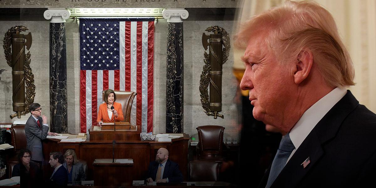 Cámara de EE.UU. vota a favor de formalizar investigación contra Trump