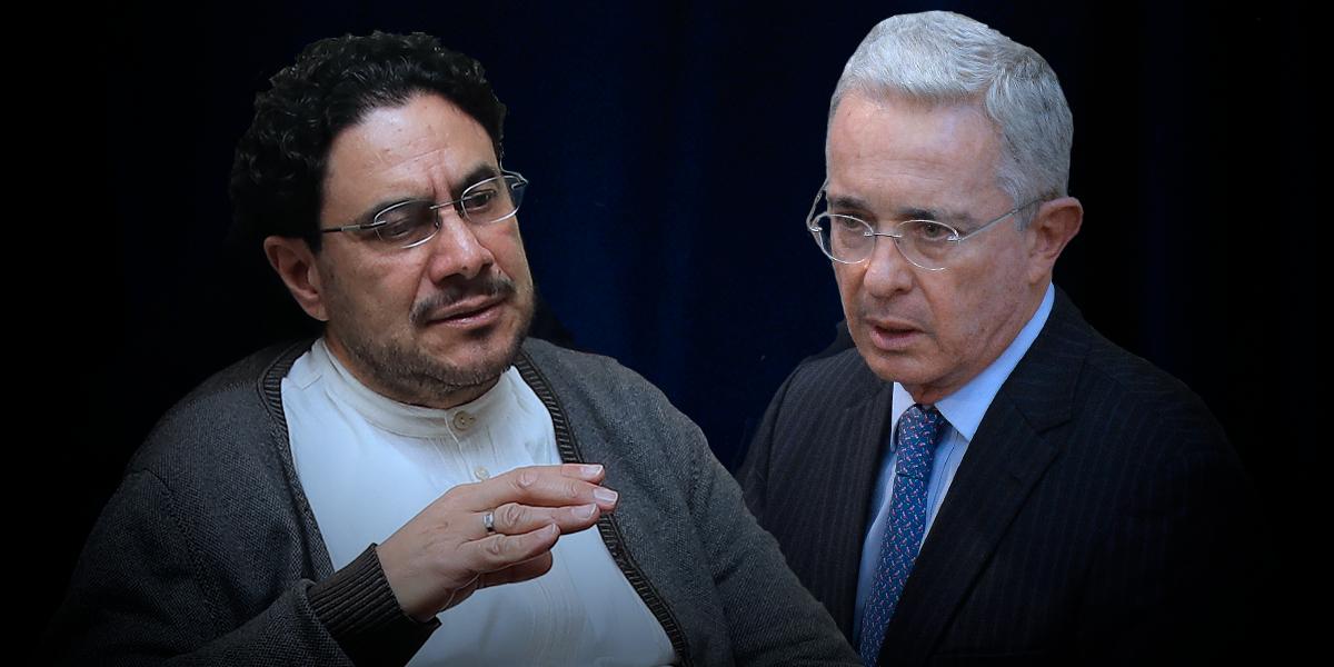 Uribe y Cepeda, los polos opuestos de la política que chocan ante la justicia