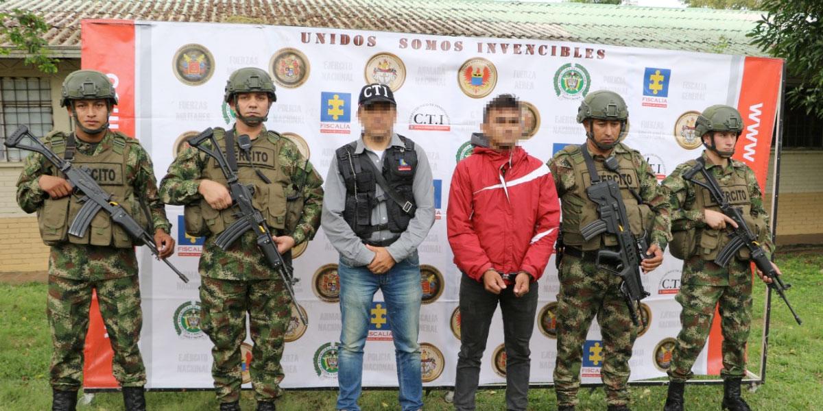 Capturado presunto cuarto cabecilla del frente 'Luis José Solano Sepúlveda' en Ocaña, Norte de Santander - Canal 1