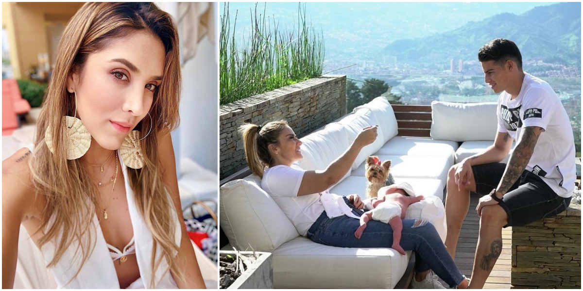 Daniela Ospina rompió el silencio sobre el nacimiento de Samuel, segundo hijo de James