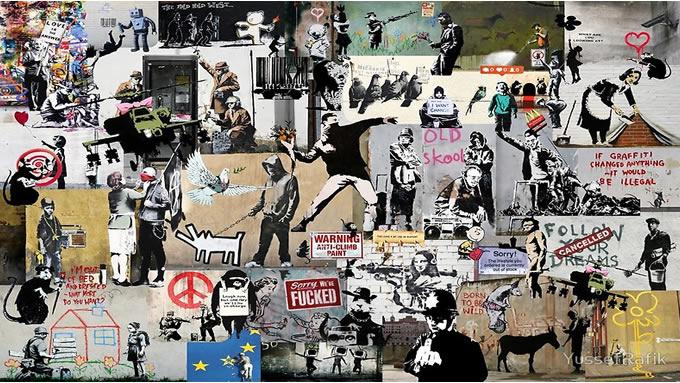 Por primera vez revelan fotografías de Banksy, el artista que se niega a mostrar su cara