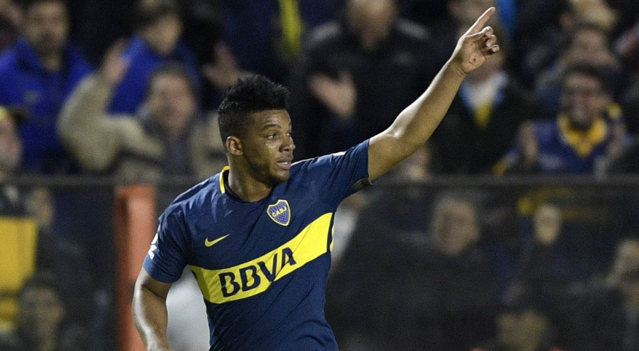 (Video) Doblete de Frank Fabra en la goleada de Boca ante Arsenal