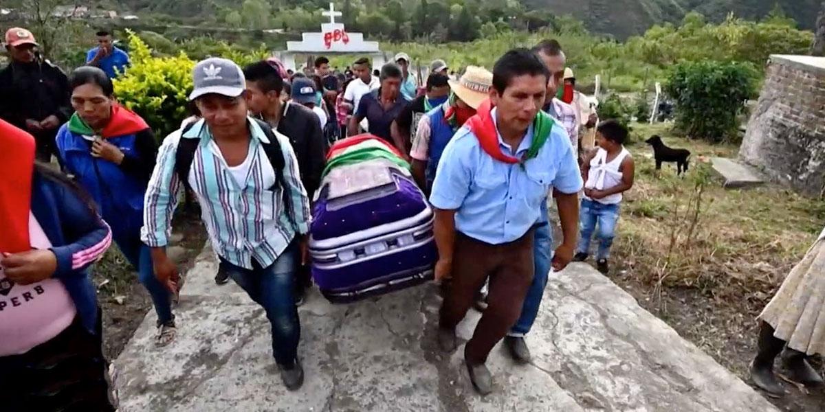 La ONIC denunció un plan de bandas narcotraficantes para asesinar indígenas