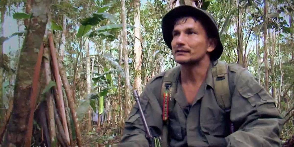 Quién era el guerrillero que reclutó a los menores de edad y que fue abatido junto a ellos en el Caquetá