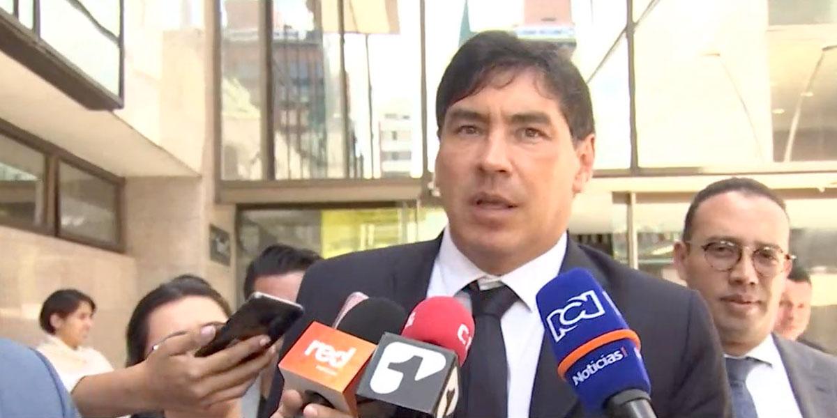 Representante Álvaro Prada rindió indagatoria por supuesta manipulación de testigos