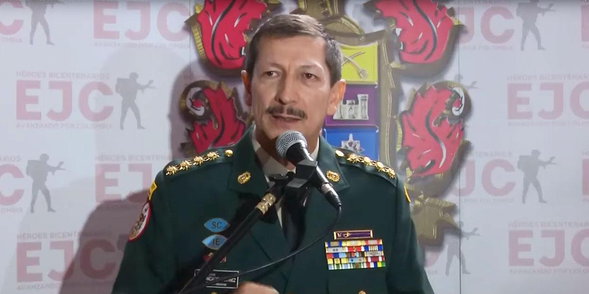 General Nicacio Martínez asegura que si hubieran sabido que había menores no habrían bombardeado