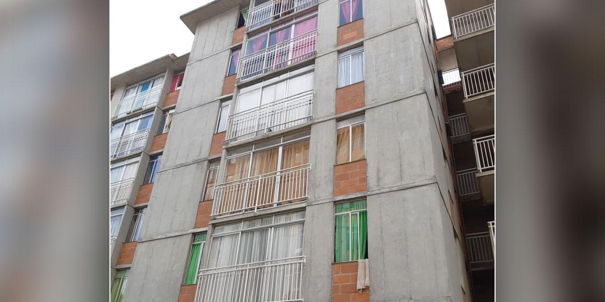 Investigan muerte de un niño de cuatro años que cayó de un octavo piso en Medellín