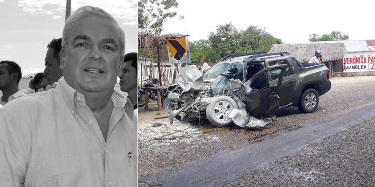 Nuevas pistas sobre cómo ocurrió el accidente en el que murió el padre de Claudia Bahamón