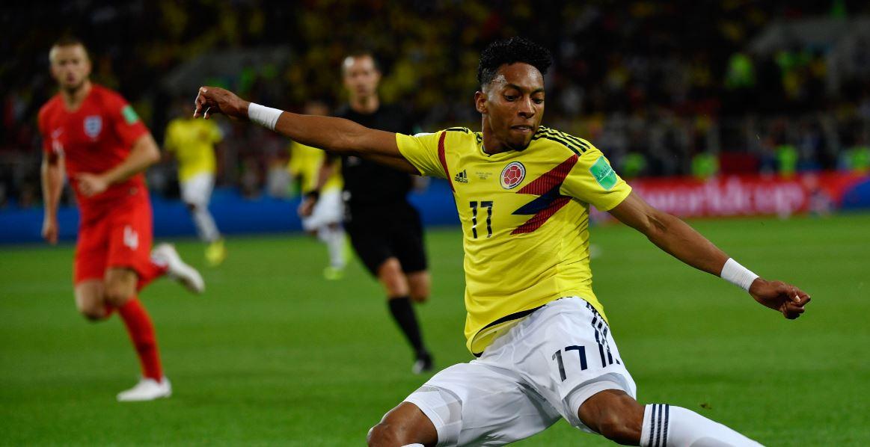 Johan Mojica se lesionó y no podrá estar con la Selección Colombia