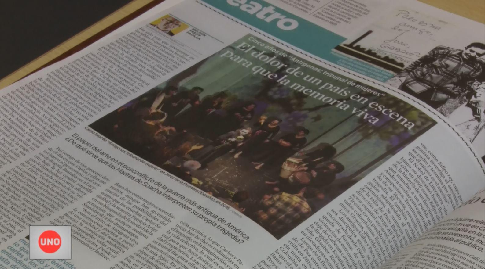 El periodista colombiano Nelson Padilla ganó el premio cultural Paco Rabal