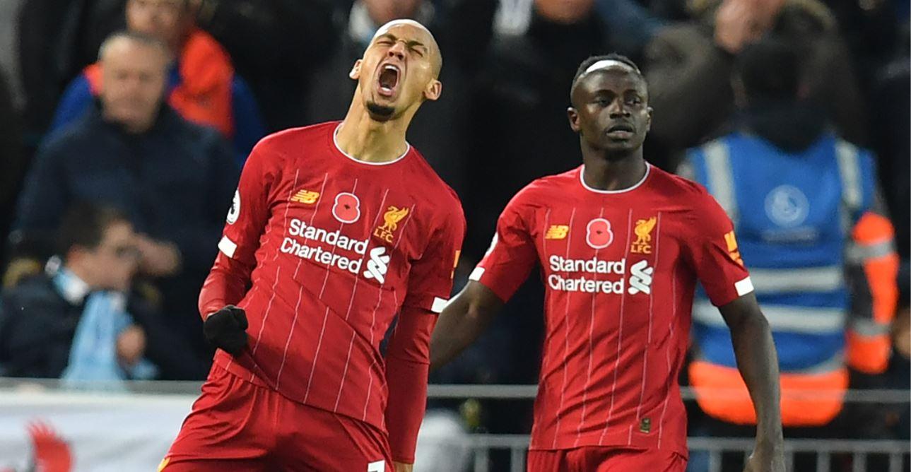 Liverpool le ganó al Manchester City y se escapa en la punta de la Premier League