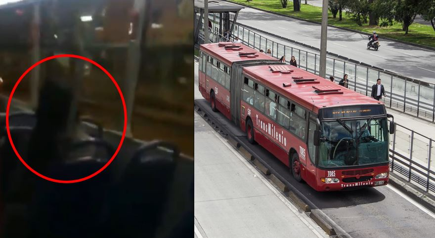 """Vamos a matar mamertos por decenas"": energúmena mujer a grito herido en TransMilenio"