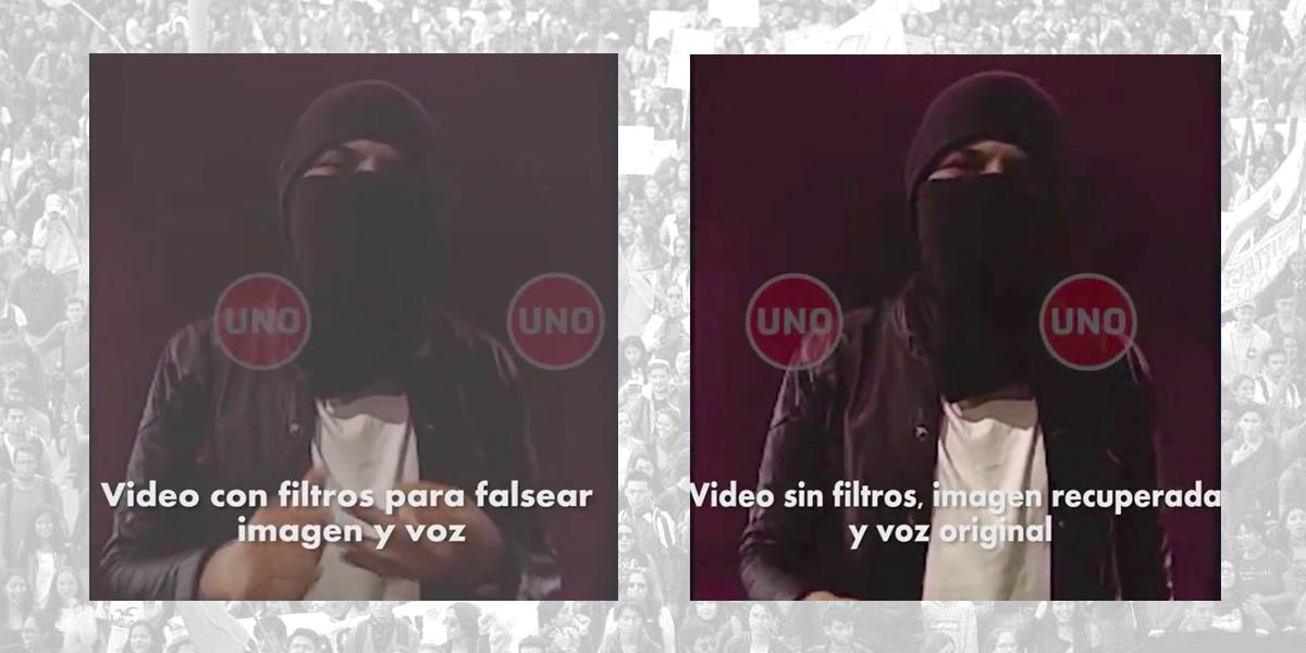 Guerra sucia contra el paro: así habrían manipulado un video que lo convoca