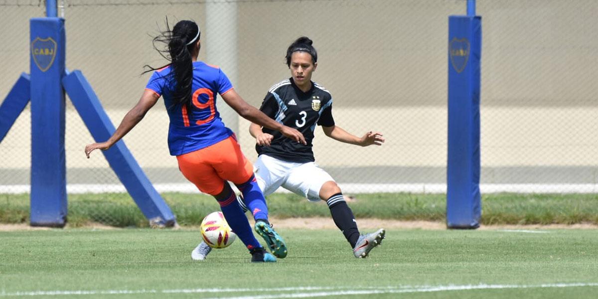 Agónico empate entre las selecciones femeninas de Colombia y Argentina