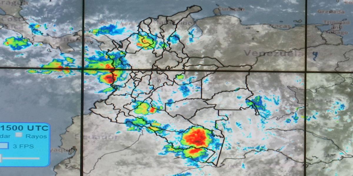Aliste el paraguas: el Ideam pronostica fuertes lluvias esta semana