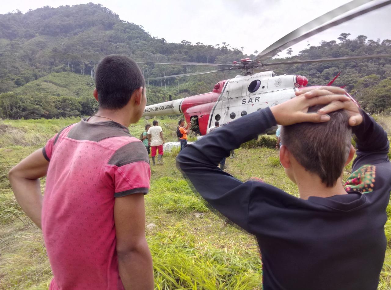 Ejército ha recuperado 152 menores reclutados por grupos armados en Antioquia, Córdoba y Chocó