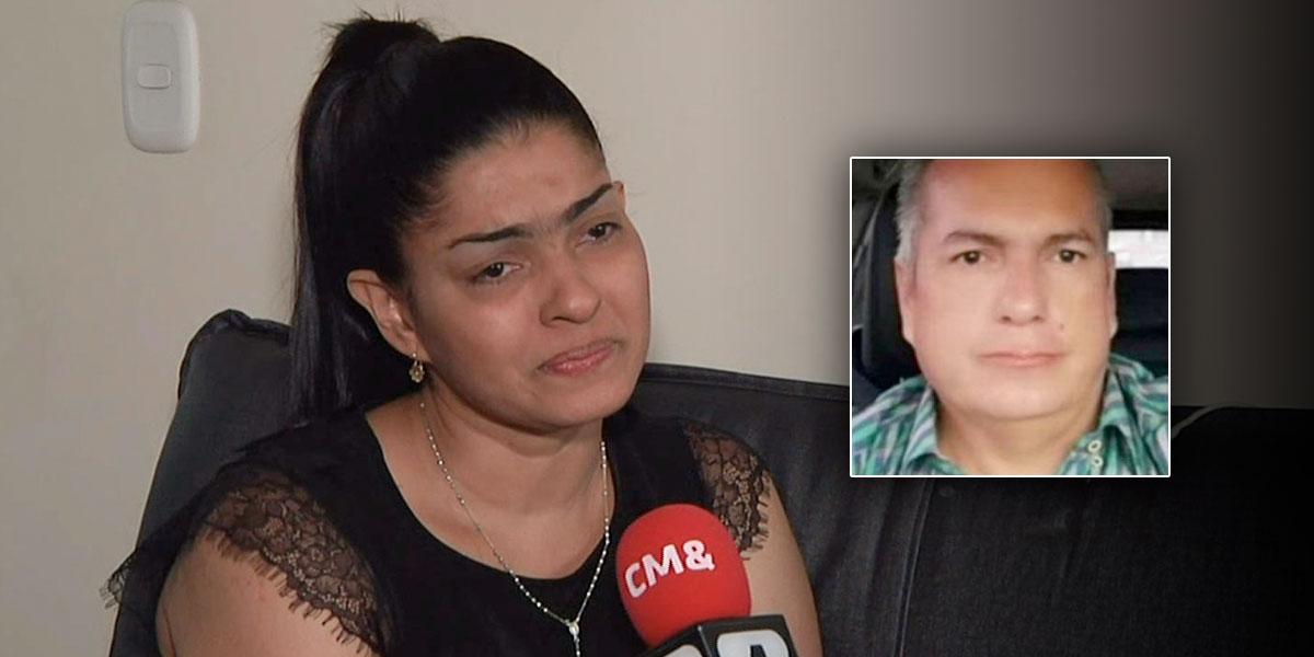 Dramático testimonio de la viuda del escolta secuestrado y asesinado cerca de Riosucio, Chocó