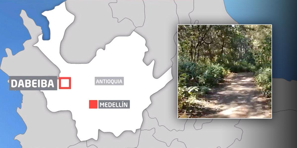 Tragedia en Dabeiba, Antioquia: niña murió al manipular una pistola para cazar una culebra