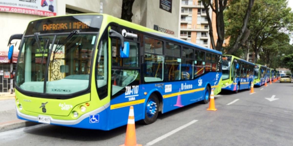 Este jueves se adjudicará compra de buses eléctricos del Sitp Provisional