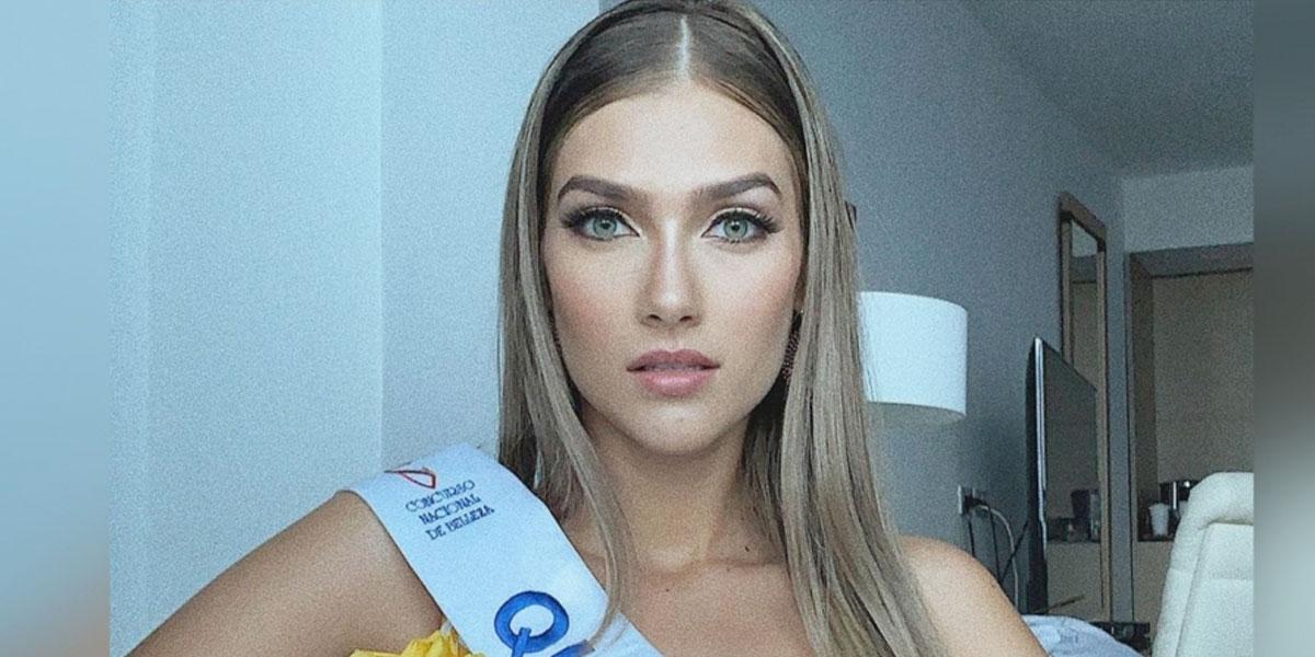 El mensaje de la nueva Señorita Colombia al presidente Duque sobre marcha del 21