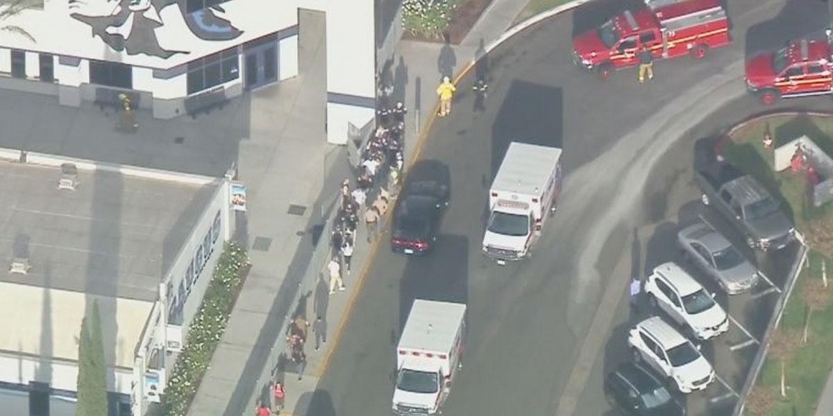 Se reporta tiroteo en escuela del sur de California
