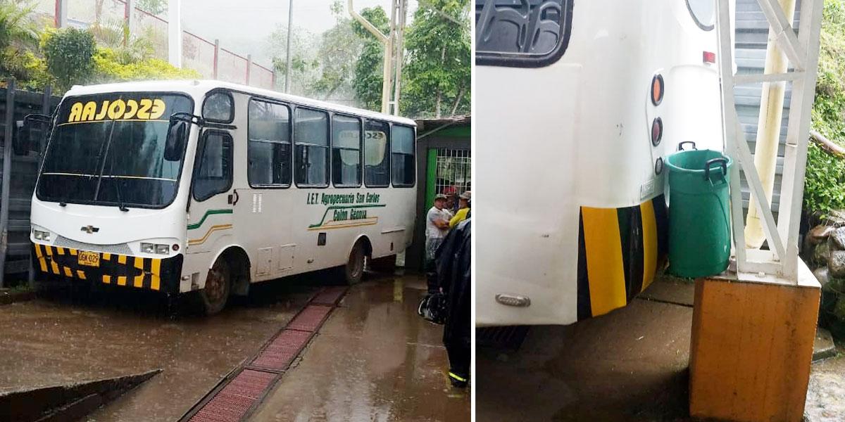 Tragedia en Nariño: cinco menores murieron al ser arrollados por un bus escolar