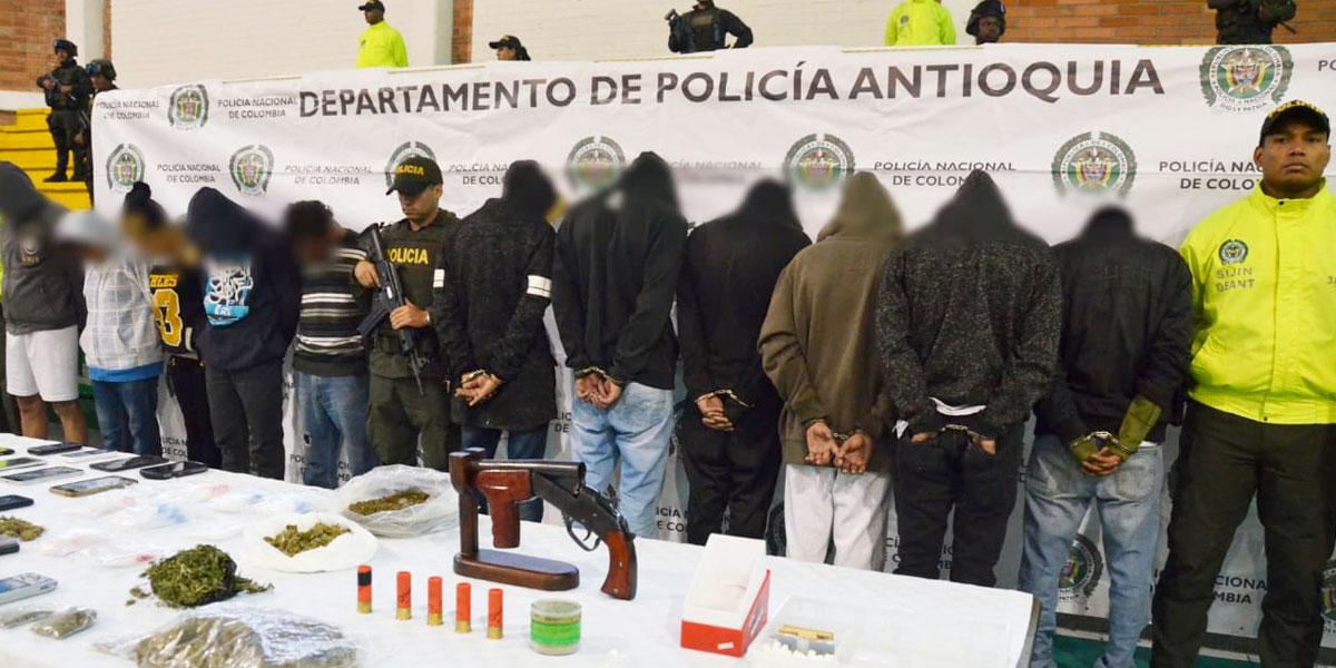 Desarticulan banda de narcotraficantes en Guarne, Antioquia - Canal 1