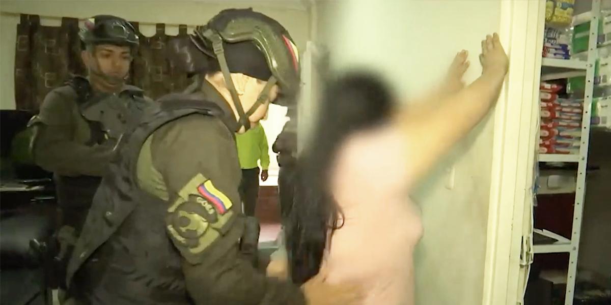 Gran operativo contra la delincuencia en el barrio La Cumbre de Bucaramanga - Canal 1