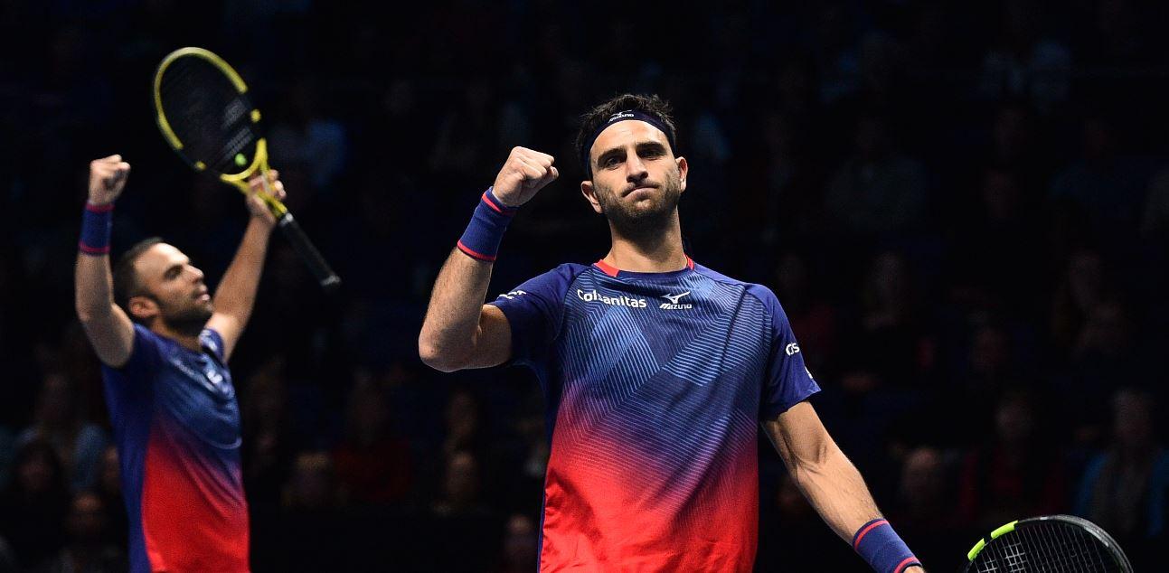 Cabal y Farah clasificaron a las semifinales del Masters pese a solo ganar un partido