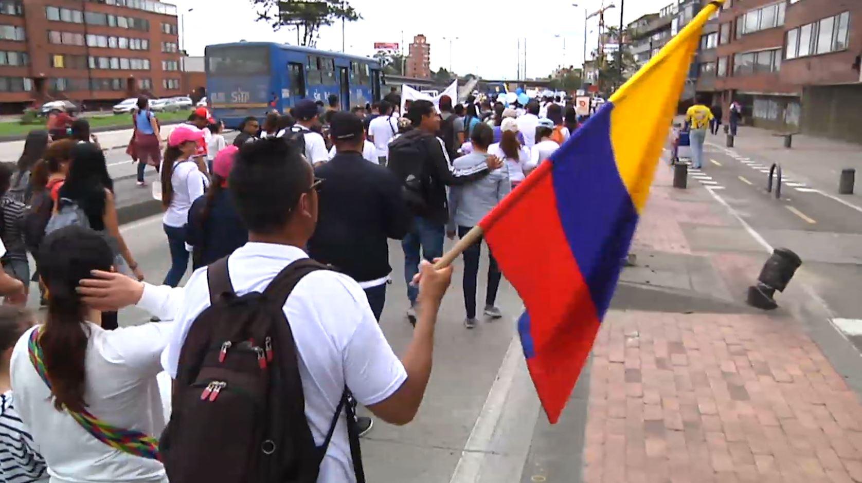 Estos serán los puntos de encuentro para el #21N en 18 departamentos de Colombia