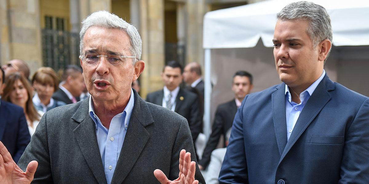 """Uribe dice que al Gobierno Duque """"le falta mucho"""" pero trabaja para mejorar"""