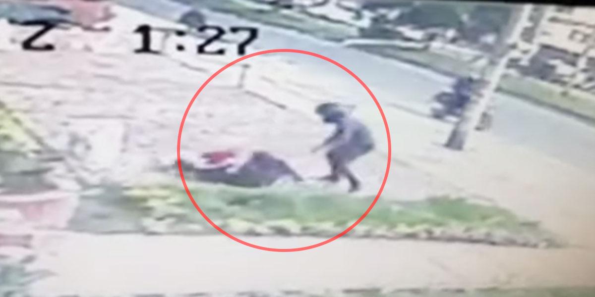 Otro impresionante atraco en Cedritos a plena luz del día: la víctima esta vez fue una mujer