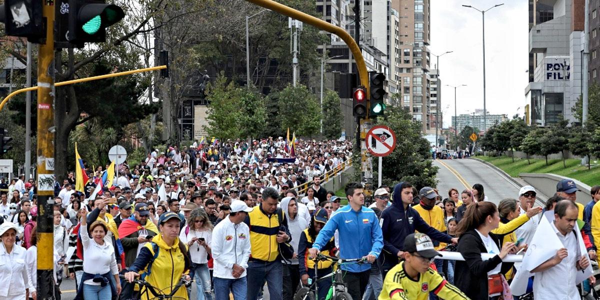 ¡Prepárese! Estas son las recomendaciones de movilidad para la jornada de marchas en Bogotá