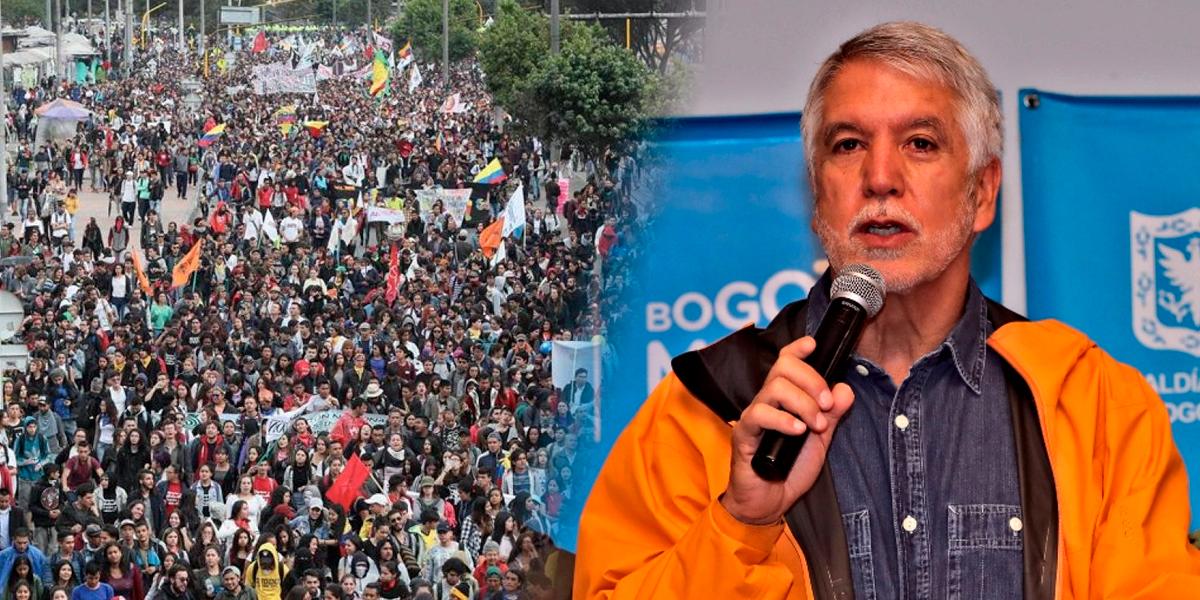 «Hay intereses politiqueros en que haya caos en la ciudad»: alcalde Peñalosa