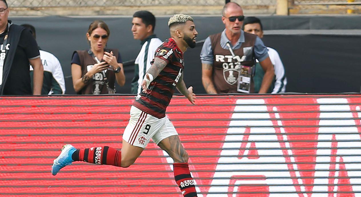 Doblete sobre la hora de 'Gabigol' le dio su segunda Libertadores a Flamengo
