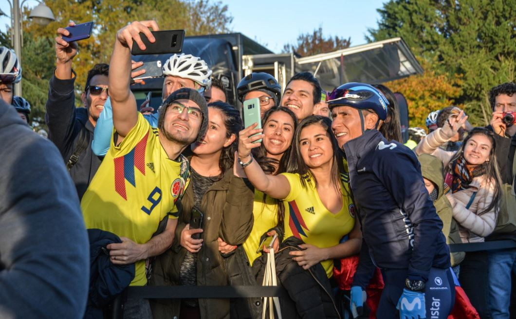 Nairo Quintana ya rodó algunos kilómetros con su nuevo equipo; el objetivo sigue siendo el Tour