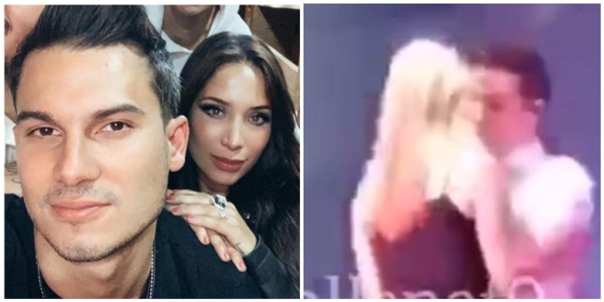 Pipe Bueno besó a una fan y la novia apareció para 'marcar teritorio'