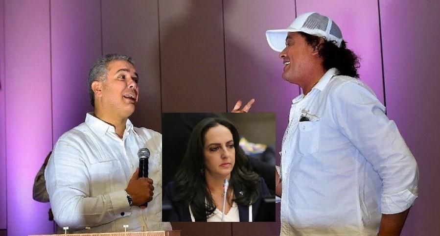 Tras duro cruce de trinos con María F. Cabal, Carlos Vives reaparece hablando de Dilan