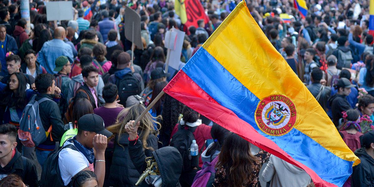 Estos serán los recorridos de las marchas de este miércoles en Bogotá