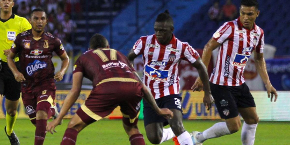 Junior empata con el Tolima y buscará el tricampeonato en la final de la Liga Águila II