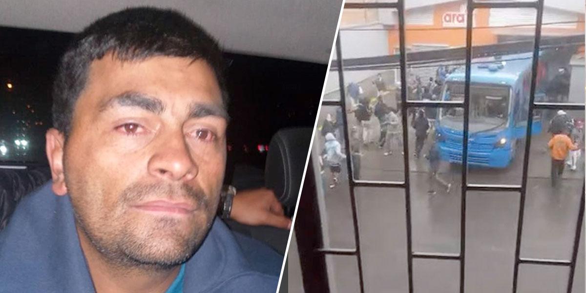 A la cárcel hombre que robó y estrelló bus del Sitp contra un Ara en Bogotá