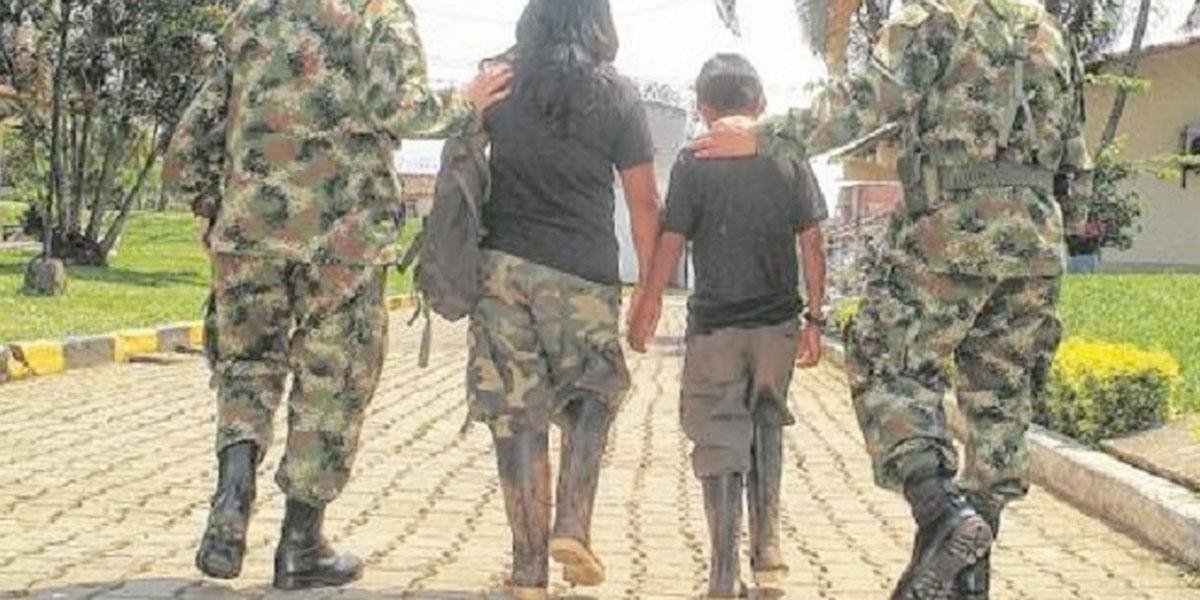 Las dolorosas cifras de reclutamiento forzado de niños y niñas en Colombia