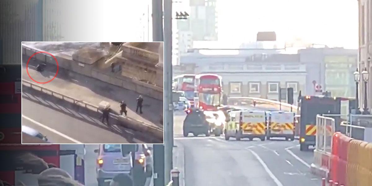 Detienen a una persona tras el incidente con cuchillo cerca del Puente de Londres