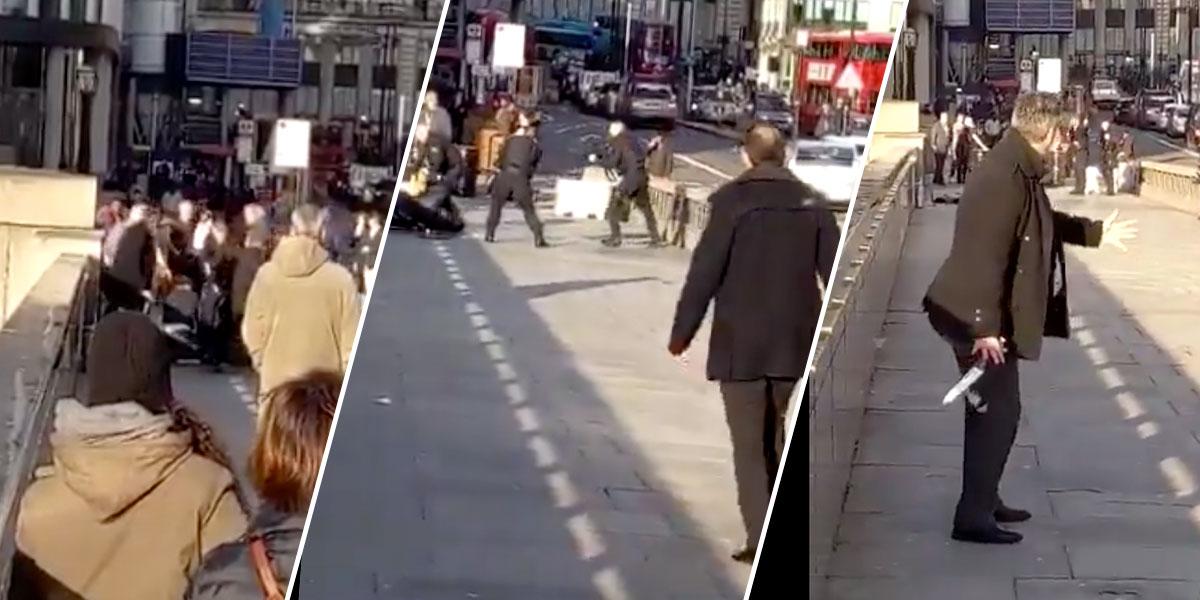 Tres muertos, incluido el presunto agresor, en ataque del Puente de Londres