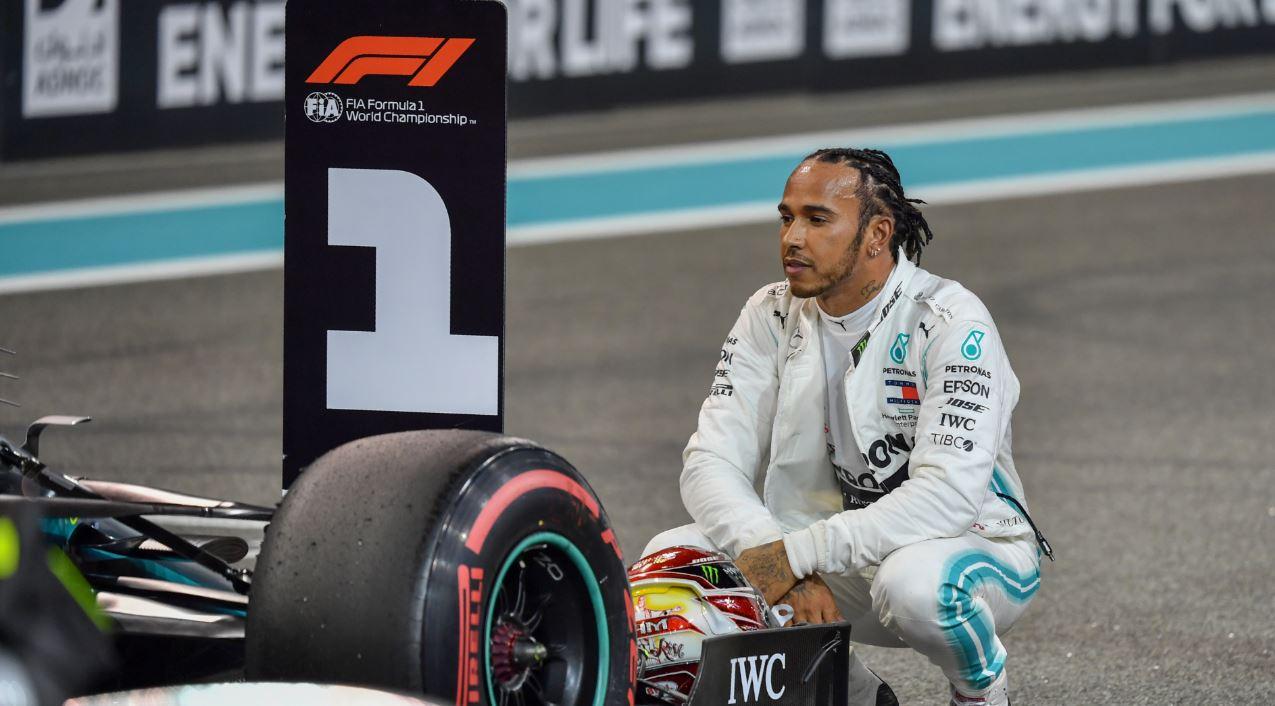 Lewis Hamilton cierra el año de F1 con la pole del GP de Abu Dabi