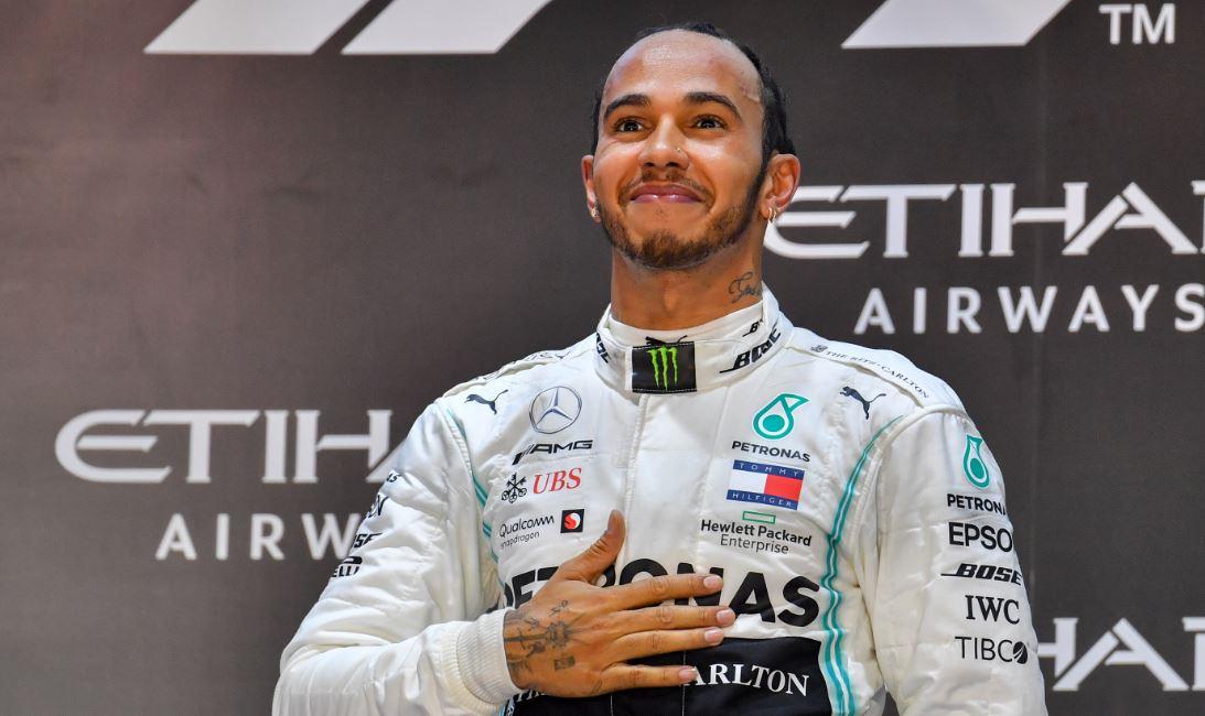 Hamilton ganó en Abu Dabi y continúa acercándose al récord de Schumacher