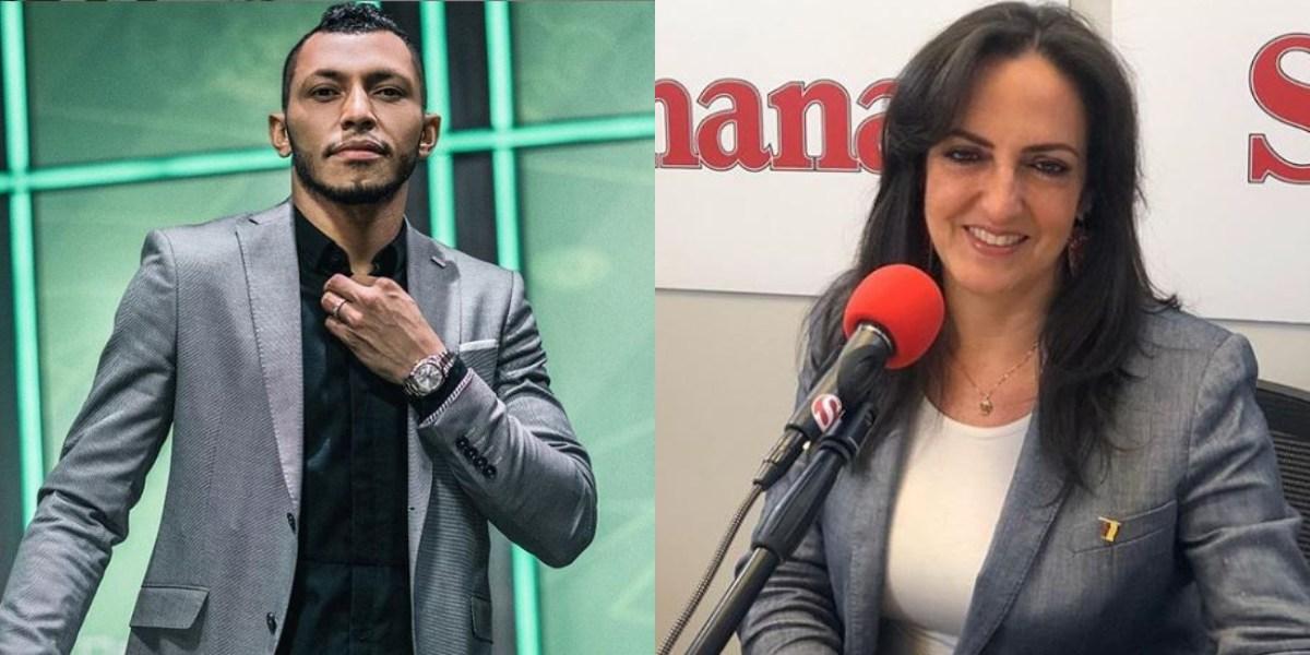 La 'peinada' del exjugador Carlos Valdés a María Fernanda Cabal en Twitter