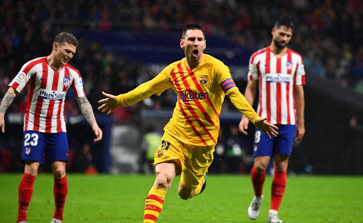 Messi le dio una agónica victoria al Barcelona sobre el Atlético Madrid