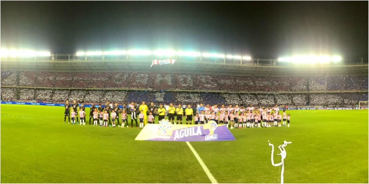 cambio de horario america de cali junior final futbol colombiano 1
