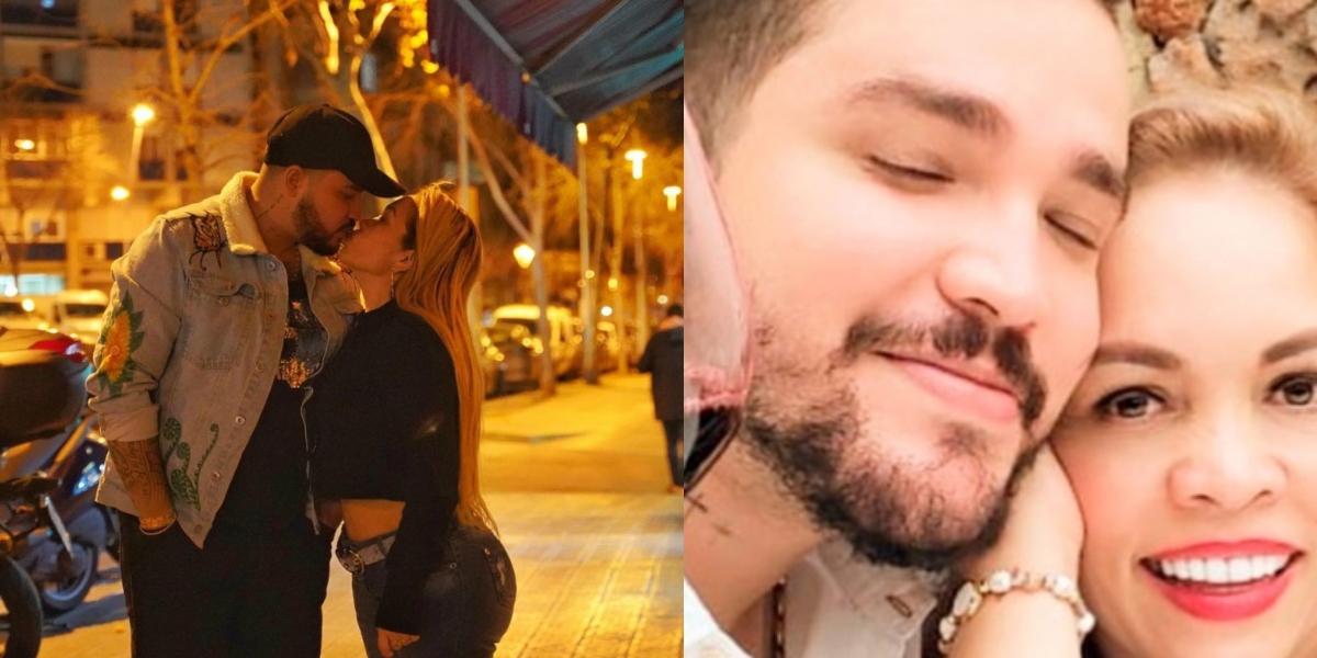 Exesposa de Jessi Uribe vuelve a publicar fotos con el cantante